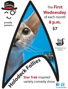 Holodeck Follies Poster