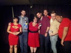 Rush Zilla, The Dandies & Alan Leightizer, Squaracters & UR Bookarts winners
