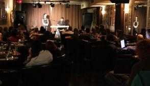 The audience loving Debs&Errol
