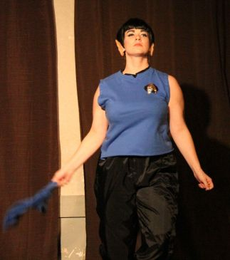 Spock (aka Bianca Boom Boom) realizes that it is logical to party