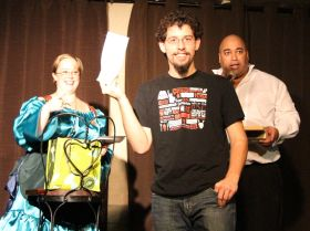 Proud winner of the Dark Comedy Festival tickets to see Robert Kelly