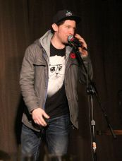 Wordburglar shared his rhythm and style with the audience