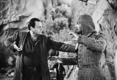 Star Trek: Sorvino and Dorn on set