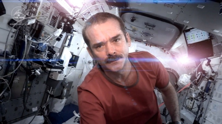 Cmdr Chris Hadfield