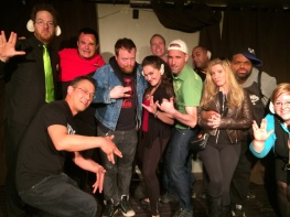 The crew of the USS Albatross and the May 7 guest performers