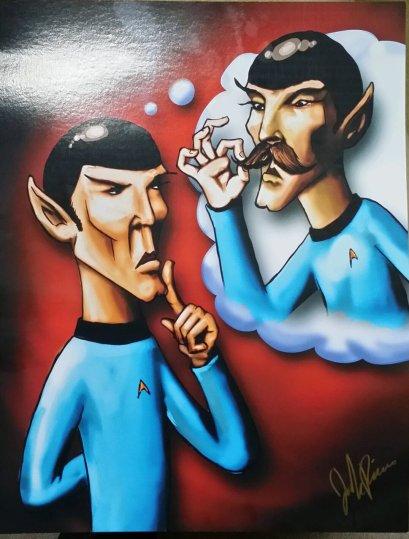 Dandy Spock Thoughts - Josh Rivers