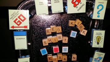 Neverwares Scrabble magnets