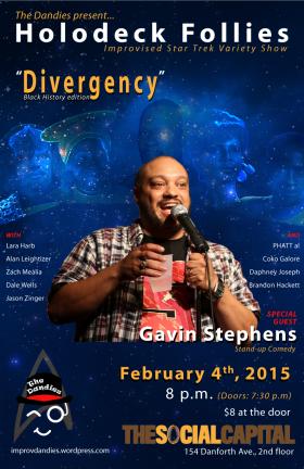 Stand-up Gavin Stephens