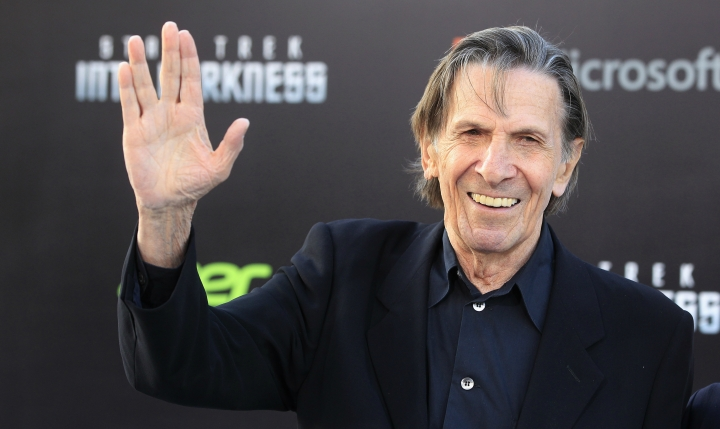 Leonard Nimoy (CREDIT: REUTERS/FRED PROUSER)