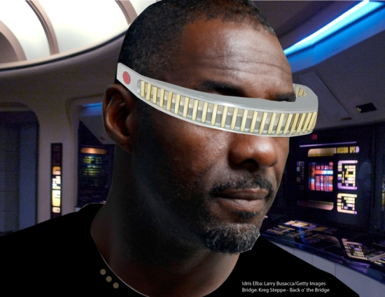 rumor: Idris Elba as Geordi La Forge?