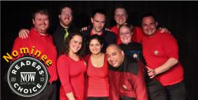 USS Albatross Crew: Jason Zinger, Zach Mealia, Alan Leightizer, Lara Harb, Deanna Palazzo, Andie & Dale Wells