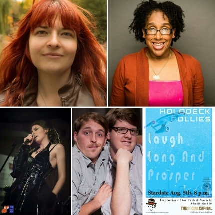 Variety Guests: Leslie Hudson, Rotten Child, Daphney Joseph, Parker & Seville
