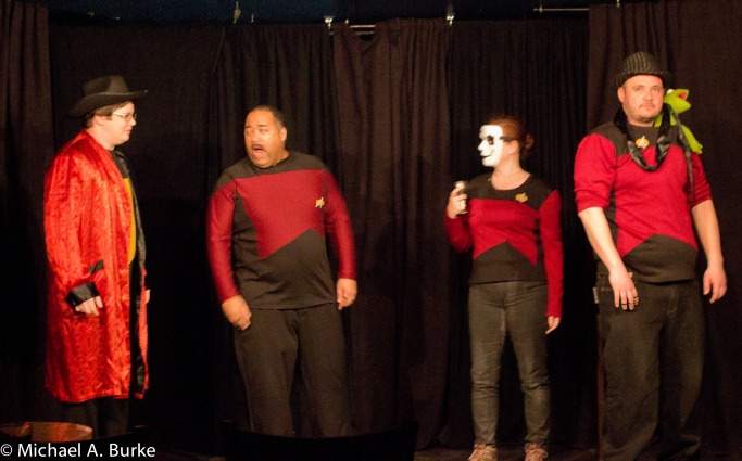 Holodeck Follies; photo: Michael A. Burke