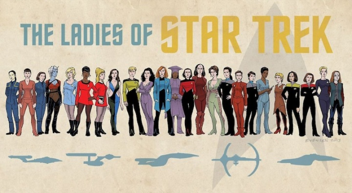 Ladies of Star Trek - Erik A. Evenson