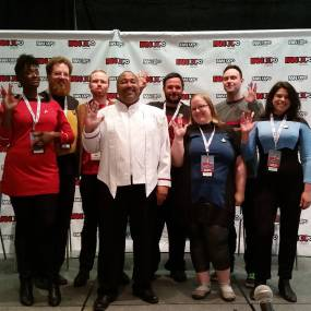 Holodeck Follies at Fan Expo 2016