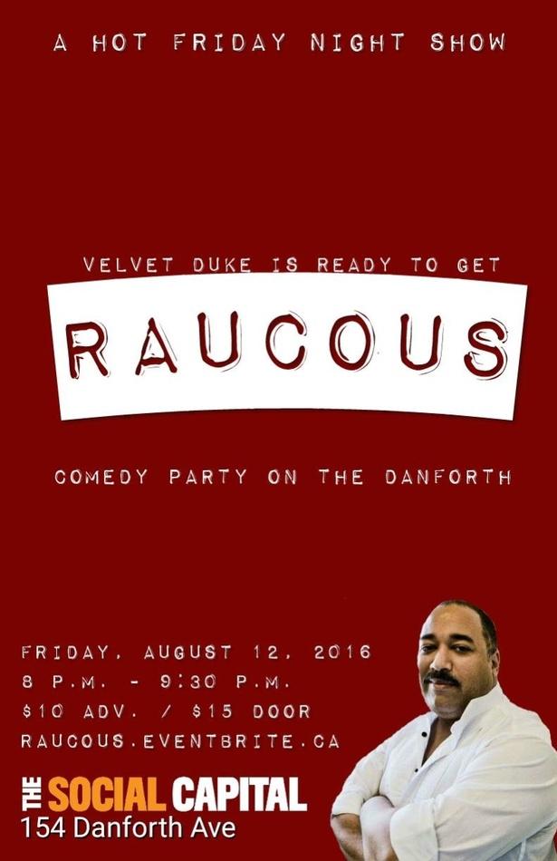 raucous-poster