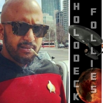 Comedian Hisham Kelati hosts Holodeck Follies