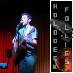 Musician Xave Ruth joins Holodeck Follies Dec 8