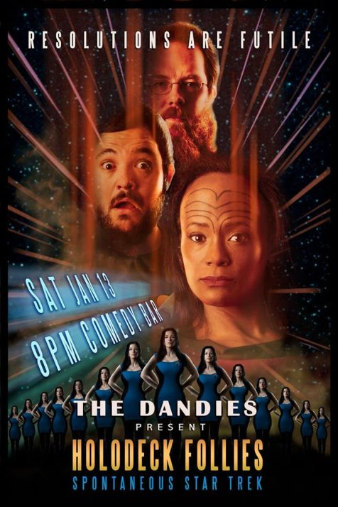 The Dandies create a new Star Trek episode on the spot!