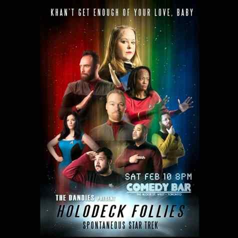 The Dandies present Holodeck Follies