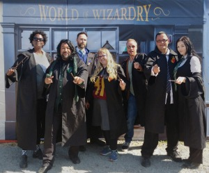 The Dandies at the Festival of Wizardry (2018). Image courtesy of Elizabeth Morriss