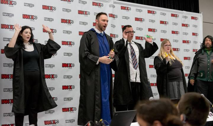 The Dandies at Fan Expo Canada 2018 - Hogwarts Follies - Harry Potter parody